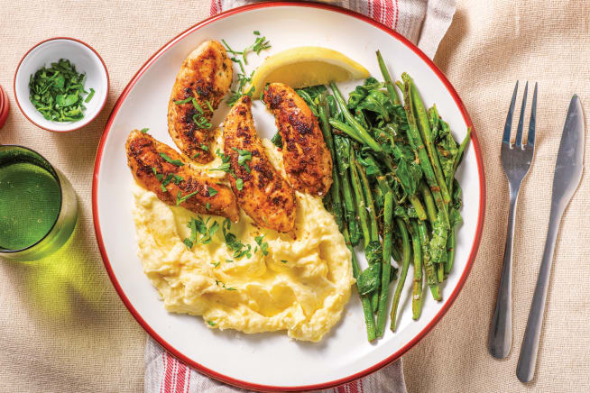Quick Meals - American-Spiced Chicken Tenders