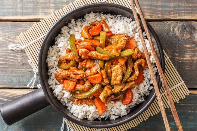 Asian Pork Stir-Fry