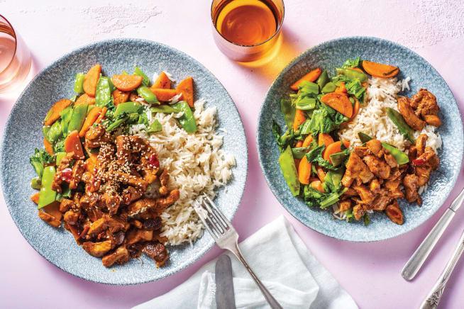 Quick Meals - Asian-Style Sichuan Pork