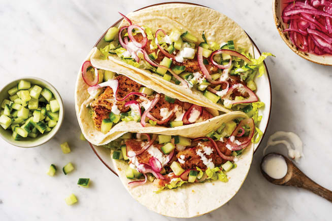 Quick Meals - Speedy Baja Fish Tacos