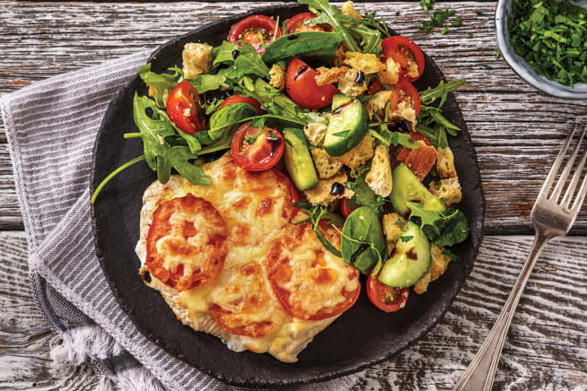 Quick Meals - Baked Cheesy Italian Chicken