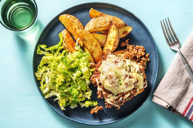 BBQ Recipes - BBQ Jackfruit Open Burgers (v)