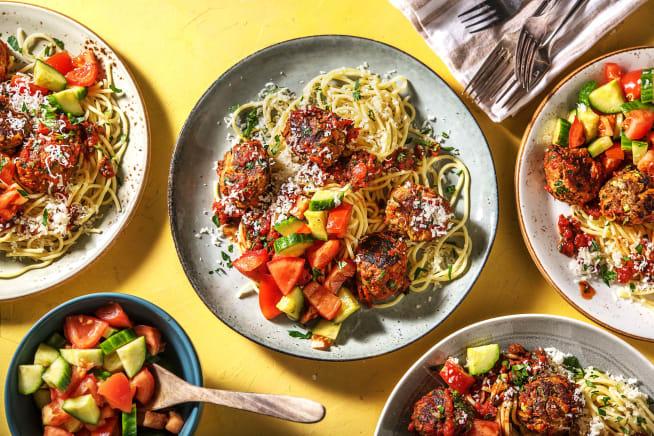 Quick Meals - Beef and Veggie Meatballs
