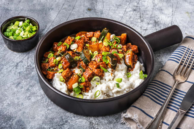 Global Flavours - Tempeh Teriyaki Bowl