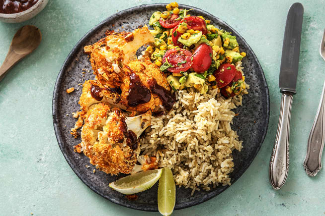 Vegetarian Recipes - Buffalo Cauliflower (v)
