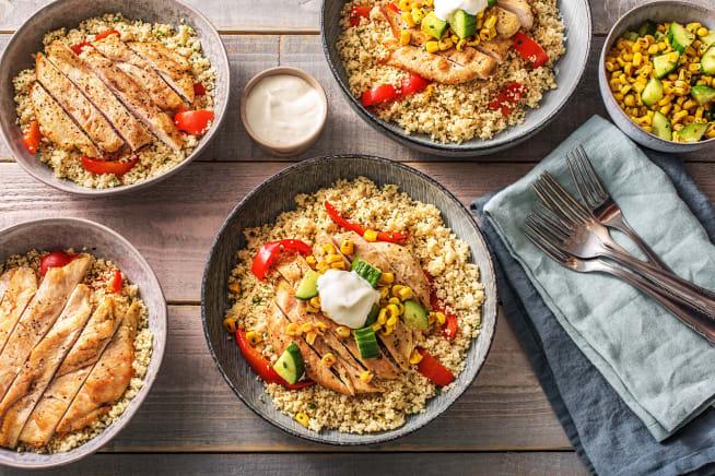 Low Calorie Meals - Butterflied Chicken