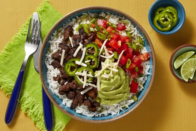 Quick meals - Carne Asada Steak Bowls