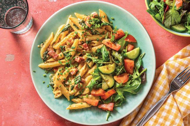 Quick Meals - Carolina's Chorizo Penne Carbonara