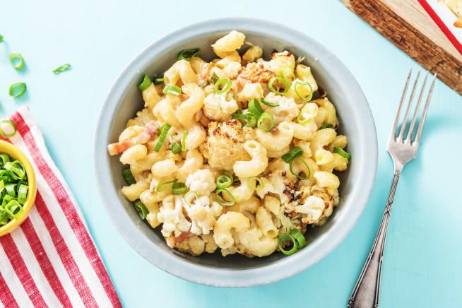 Cauliflower Pancetta Mac 'n' Cheese