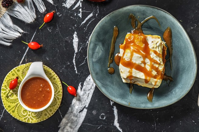 Cremiges Kürbis-Dessert