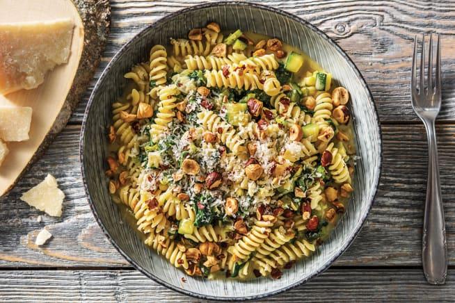 Quick Meals - Cheesy Parmesan & Leek Fusilli