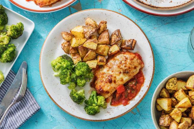 Cheesy Tomato Chicken