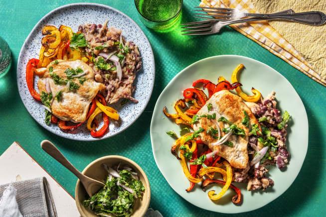 Low Calorie Meals - Fajita Chicken