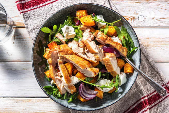 Low Calorie Meals - Chicken and Feta Jumble
