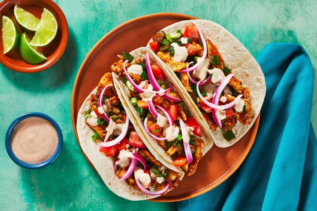 Family Friendly - Chicken Carnitas Tacos