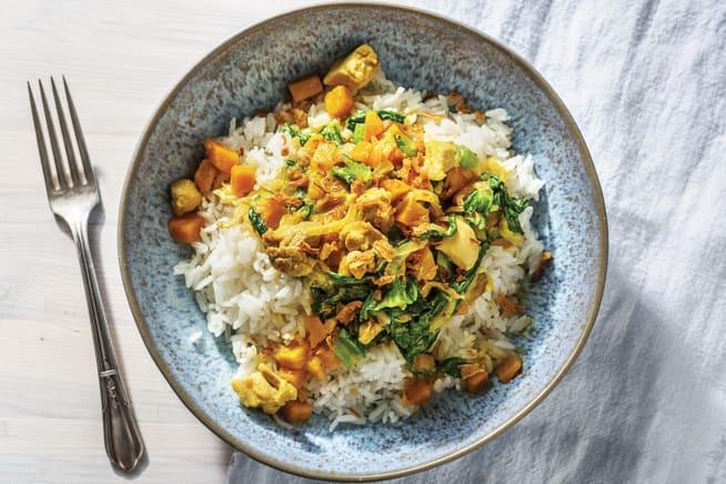 Chicken & Pumpkin Thai Yellow Curry