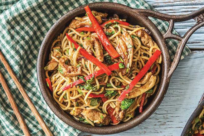 Shanghai-Style Chicken Stir-Fry