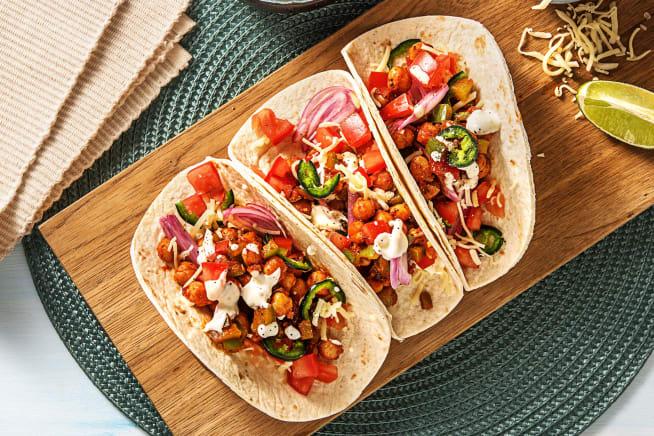 Quick meals - Chickpea Tinga Tacos
