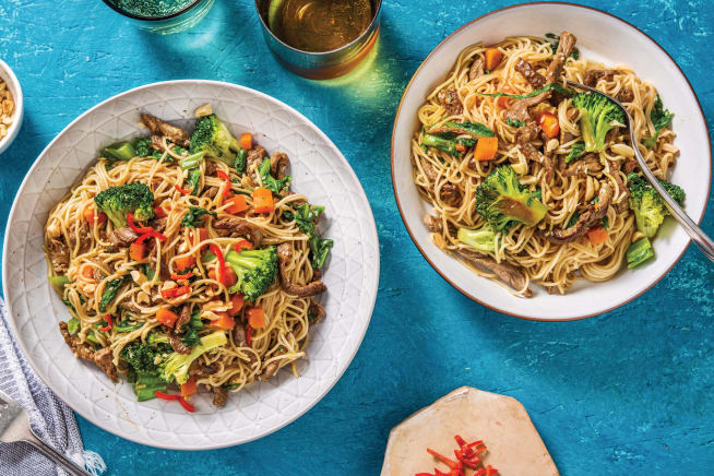 Quick Meals - Chinese Beef & Ginger Noodles