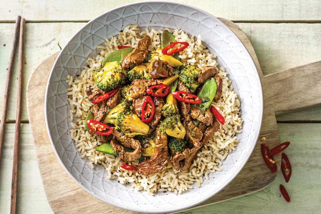Chinese Beef & Broccoli Stir-Fry