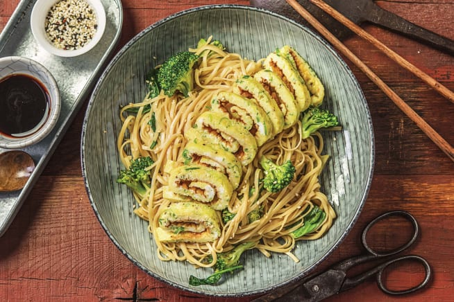 Chinese Broccolini & Coconut Noodle Bowl