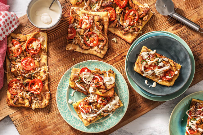 Quick meals - Cowboy-Style Chicken Pizzas