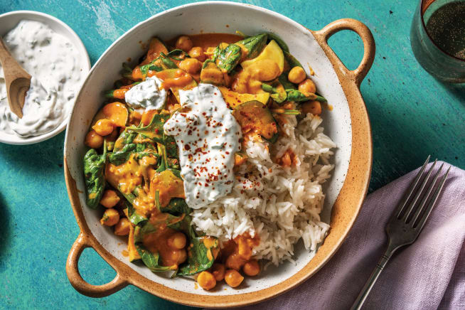 Quick Meals - Creamy Chickpea & Spinach Curry