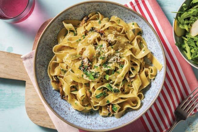 Quick Meals - Creamy Mushroom & Truffle Fettuccine