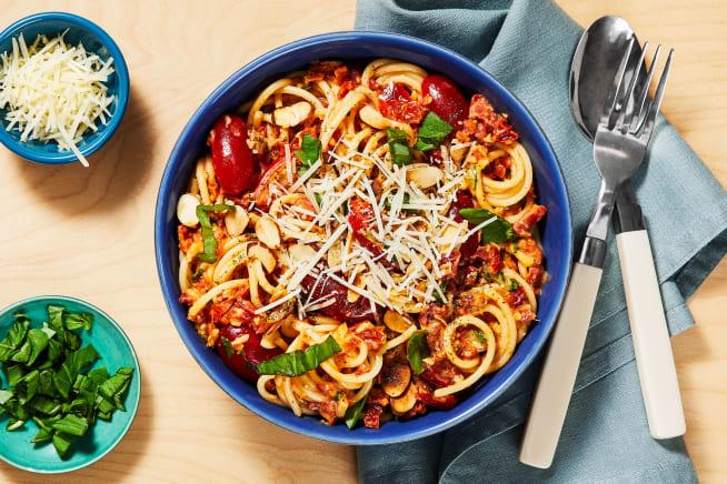Quick meals - Sundried Tomato & Basil Spaghetti