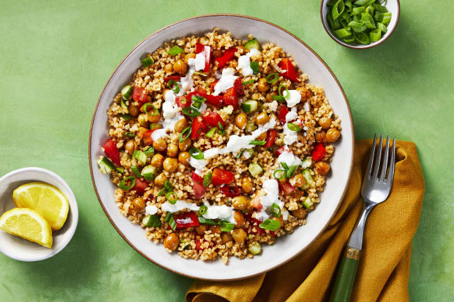 Quick meals - Crispy Chickpea Tabbouleh Bowls