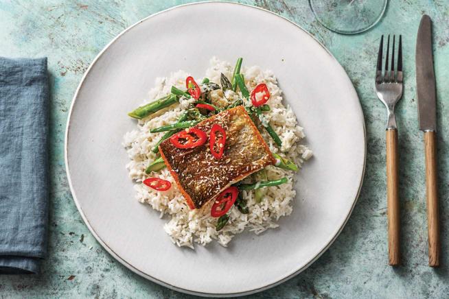 Quick Meals - Ocean Trout & Thai Coconut Sauce