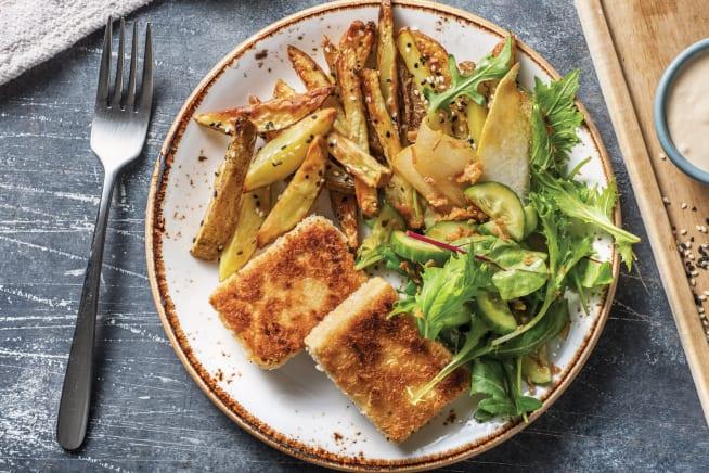 Quick Meals - Crumbed Tofu Schnitzel