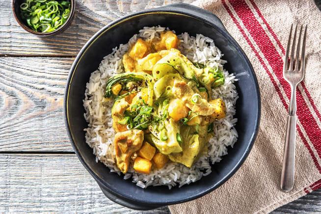 Curry mit Putenbrust und Mango