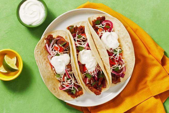 Quick meals - Diced Pork Carnitas Tacos
