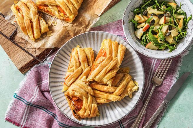 Schnelle Gerichte - Dukkah-Karotten-Strudel