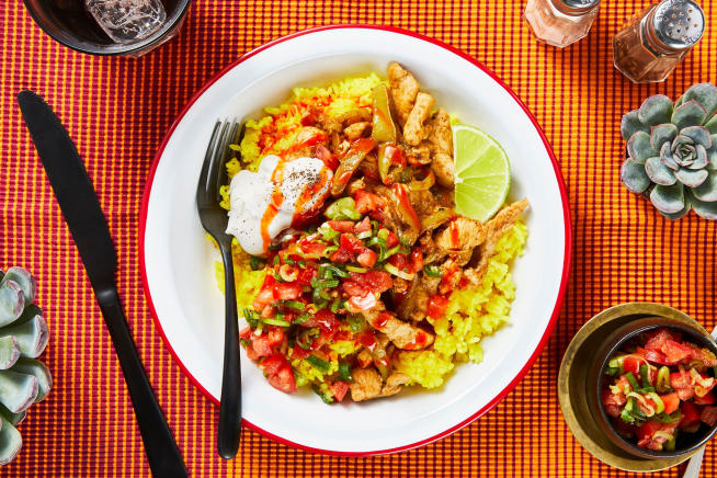 Mexican Chicken and Rice Bowl