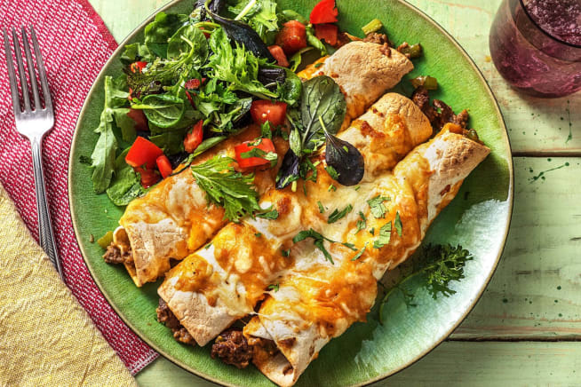 Vegetarian Recipes - Veggie Enchiladas