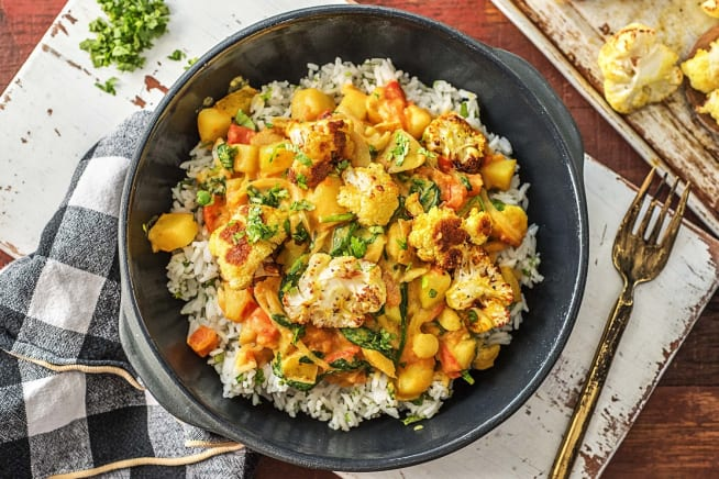 Fragrant Aloo Gobi Cauliflower and Potato Curry