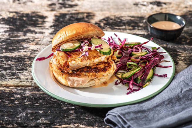 Delicious and quick recipes hellofresh quick meals fried tilapia sandwiches forumfinder Gallery