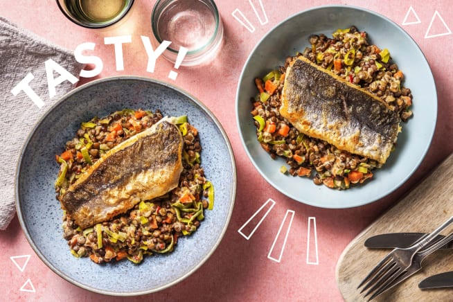 Gesunde Gerichte - Gebratener Seehecht