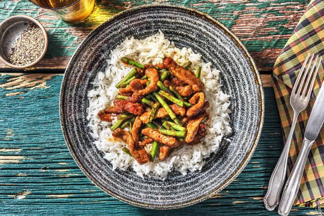 Quick Meals - Ginger Beef Stir-Fry