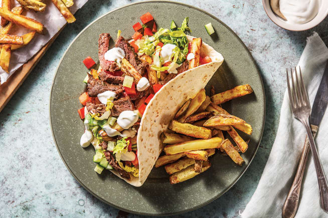 Build-Your-Own Beef Gyros