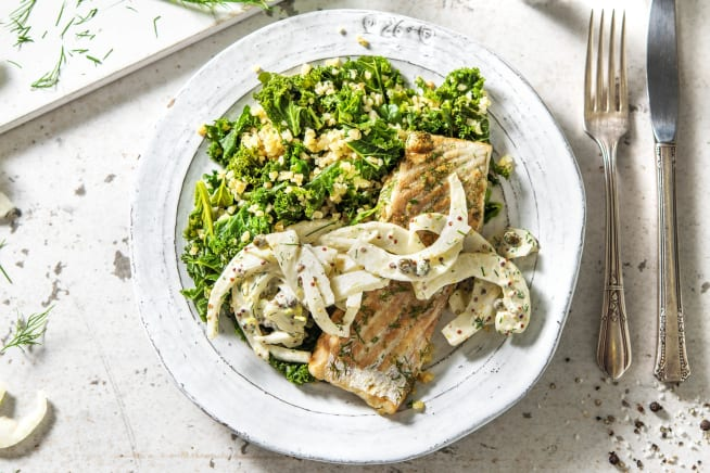 Low Calorie Meals - Grilled Coley