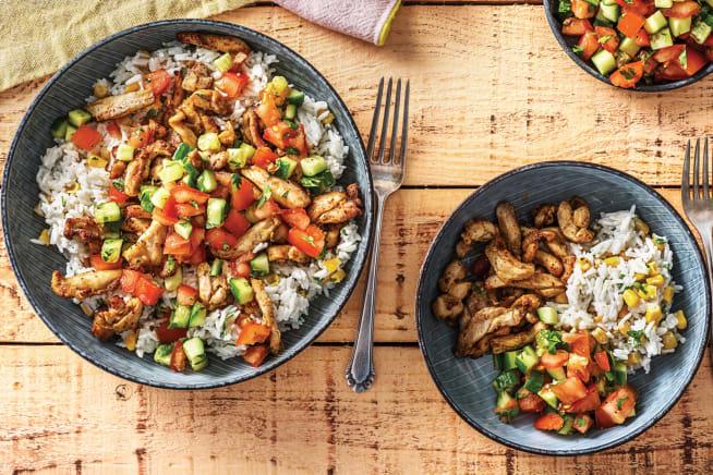 Grilled Tex-Mex Chicken Strips