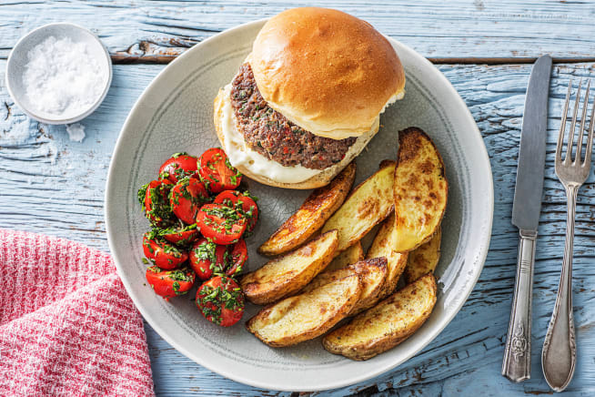 Quick Meals - Herby Burgers