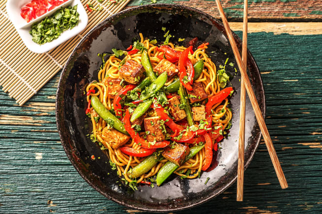 Hoisin Tofu Stir-Fry