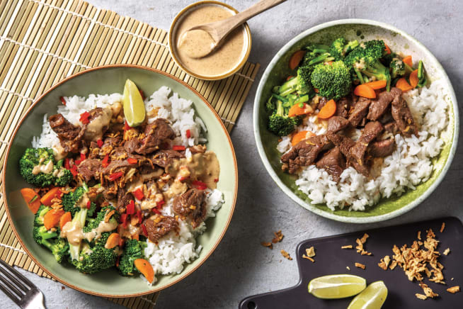 Quick Meals - Honey-Soy Beef Stir-Fry