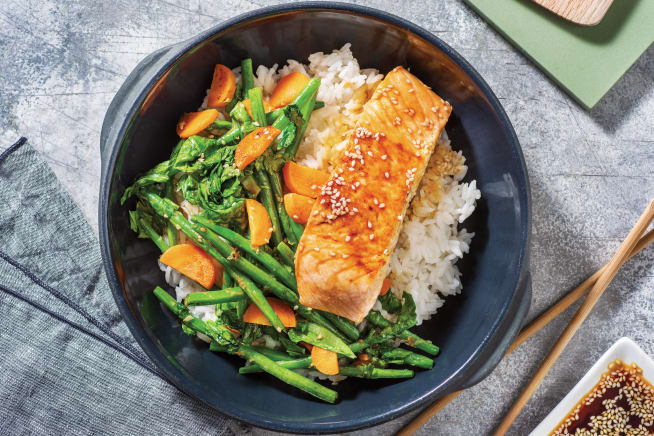 Quick Meals - Honey-Soy Glazed Salmon