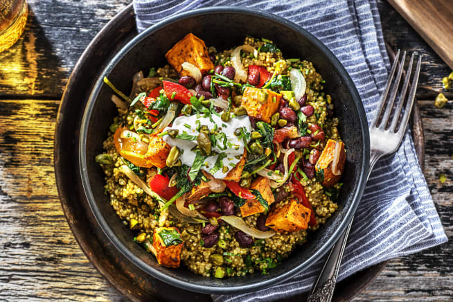 Vegetarian Recipes - Indian Spiced Quinoa (v)