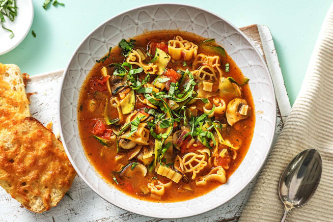 Italiaanse minestronesoep